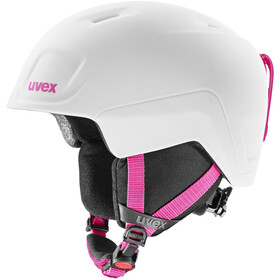 UVEX Heyya Pro Kypärä Lapset, white-pink mat
